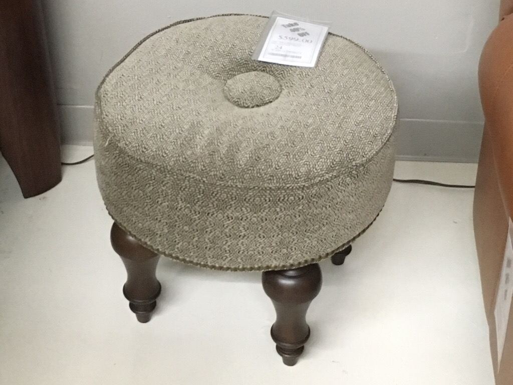 Our smallest ottoman or stool
