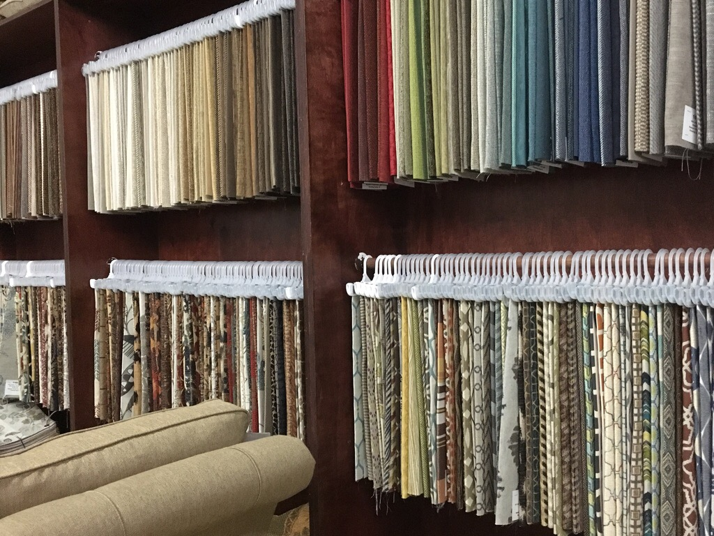 Lots of fabrics for you to chose from