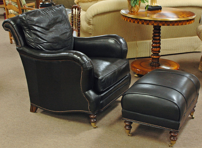 Our most comfortable Chair & Ottoman